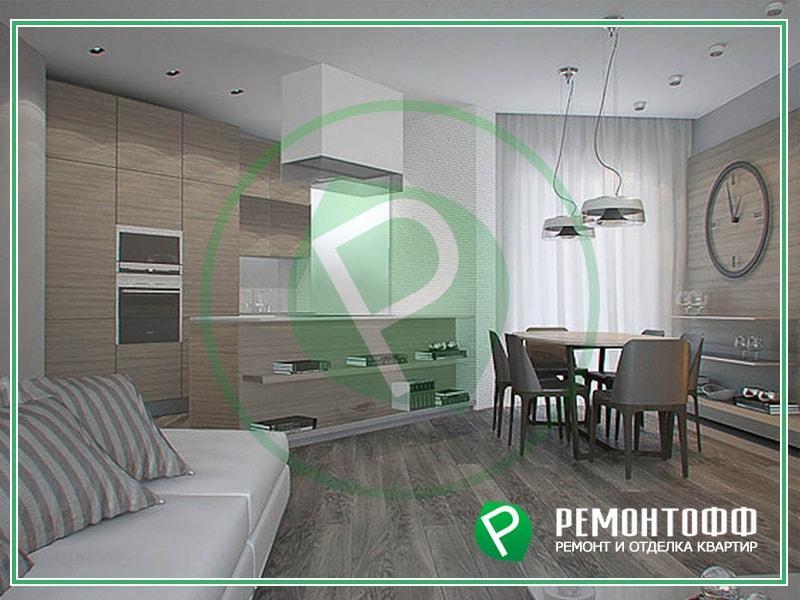 Дизайн 2-комнатной квартиры